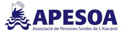 Logo Associació de Persones Sordes de l'Alacant