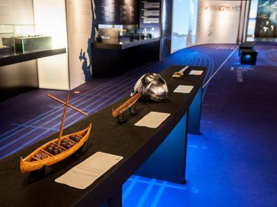 Maquetas 3D en la Exposición Vikingos del MARQ