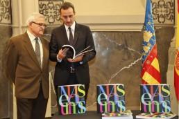 El presidente de la Diputación de Alicante y el Diputado de Cultura