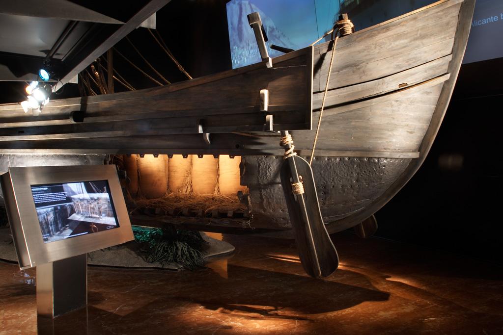 Sala Temática del Museo Arqueológico de Alicante - Pecio submarino
