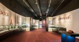 Maquetas 3d en la exposición de Vikingos en el MARQ