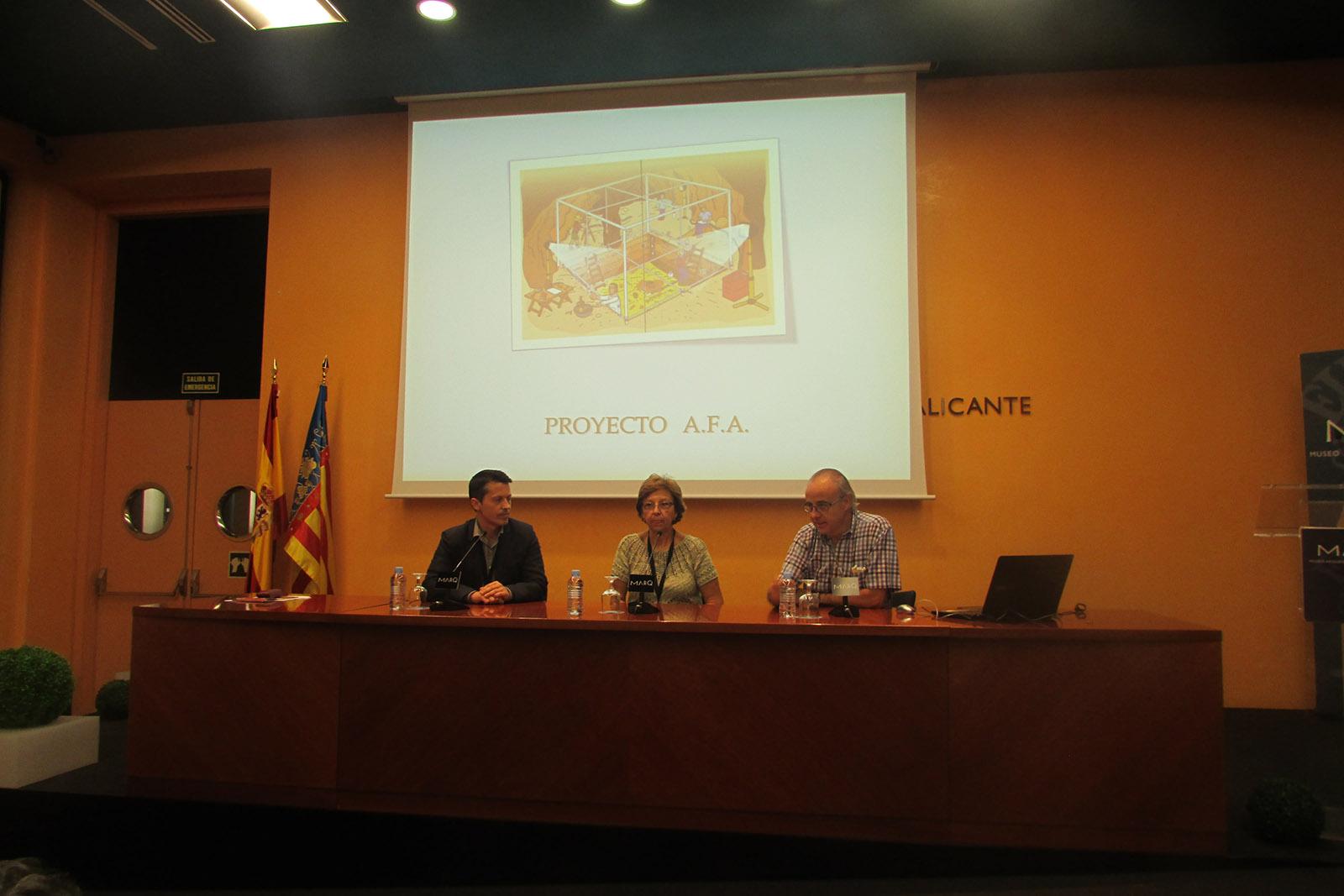 Proyecto A.F.A. presentación en el MARQ