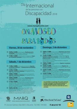 Poster del Día de la Discapacidad 2018