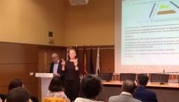 Lectura de los derechos de los discapacitados en la Universidad de Alicante