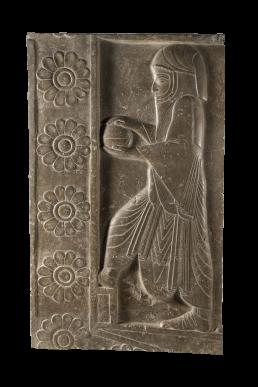 Fragmento de relieve de piedra procedente de Persépolis