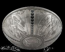 Cuenco de plata de época sasánida