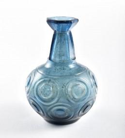 Botellita de vidrio del siglo XIII