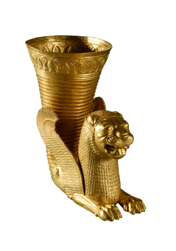 Ritón de oro del periodo persa aqueménida