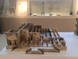 Maqueta de la Apadana del palacio de Persépolis