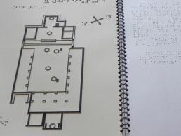 Guía braille y relieves del Yacimiento de Tossal de Manises - Lucentum