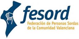Logo Federación de Personas Sordas de la Comunidad Valenciana