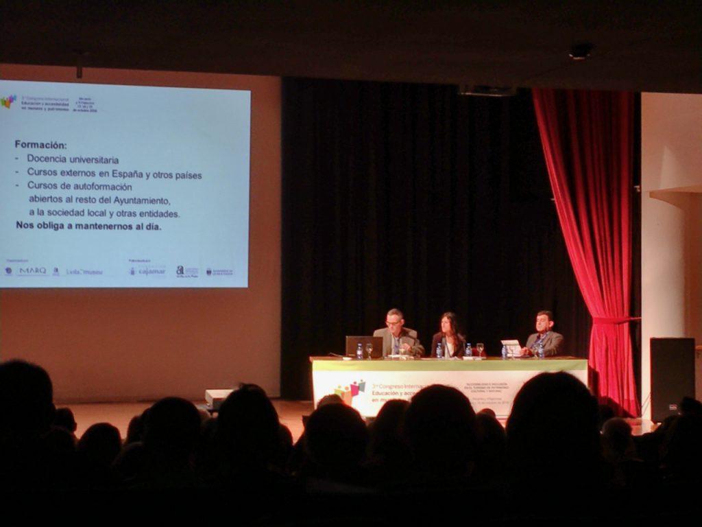 Segunda Jornada Congreso Accesibilidad en Vila museu