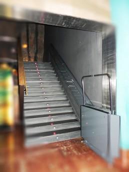 Salva escaleras salas temáticas