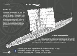 guia didática de Vikingos con lectura facil