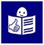 Icono de lectura fácil