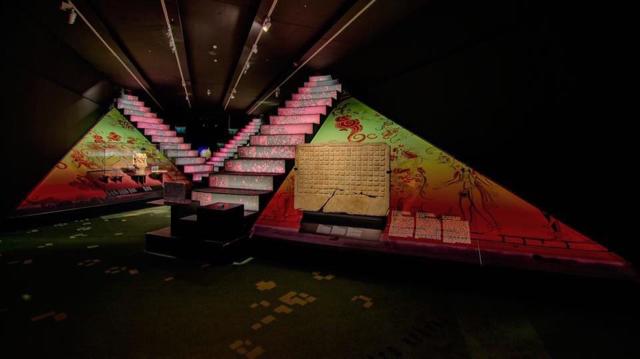 Sala 1 exposición Mayas