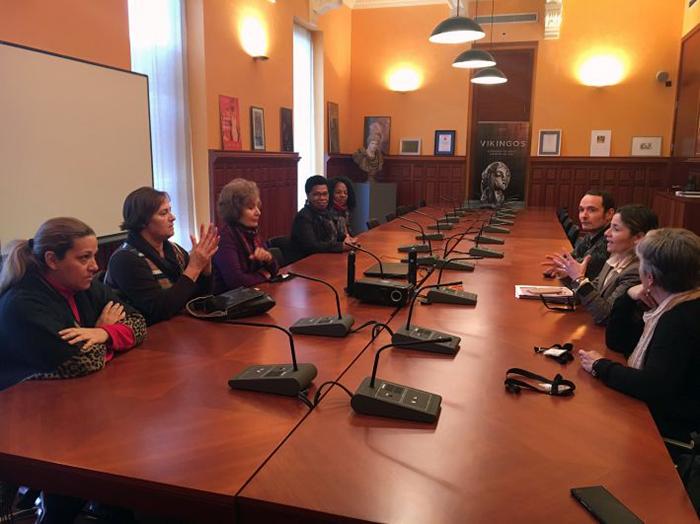Reunión del proyecto en el MARQ