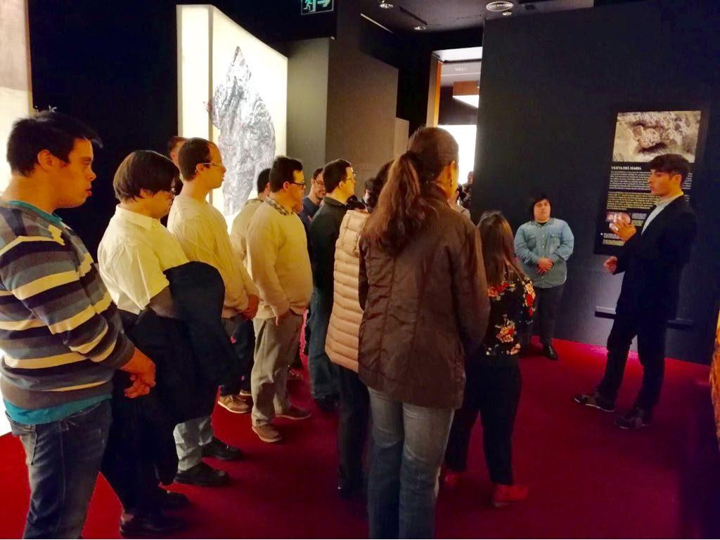 Visita a la exposición de Petrer