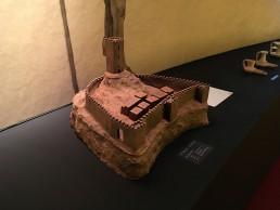 maqueta castillo islamico de Petrer