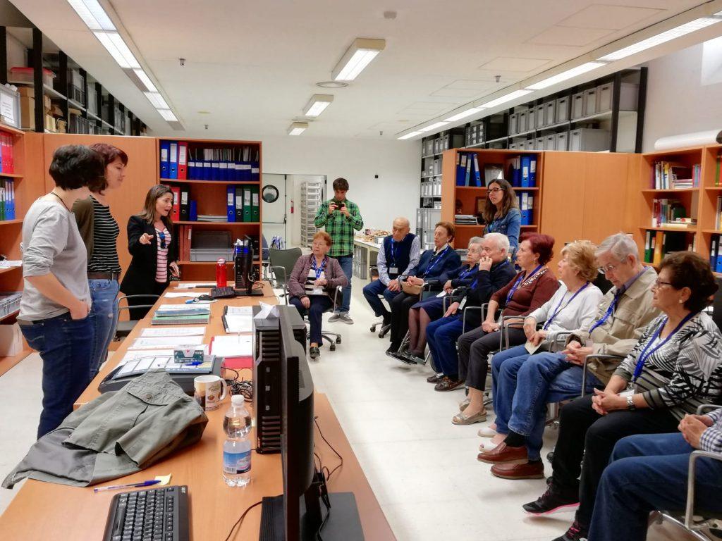 Visita ultima jornada del proyecto Museo y Memoria