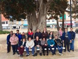 Visita de la Asociación de Síndrome de Down al MARQ